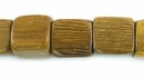 Robles Wood Cube Beads 10mm
