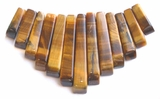 Tiger Eye Tapered Beads
