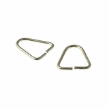 Sterling Silver Open Triangle Jump Ring 7x9mm