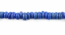 Blue Round Coco Beads 4-5mm