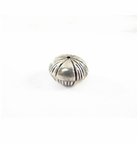 Silver Plated Brass Bead 11x17mm