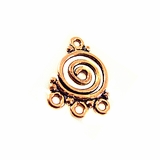 Swirl Chandelier Copper Bead