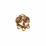 Chandelier Heart Design Copper Bead