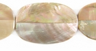 Brownlip 4Sided Shell Beads 18x31mm