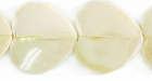 Greenshell Heart Shaped Shell Beads 25x28mm