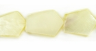 Hammershell 6- Sided Arrowhead Shell Beads 16x20mm
