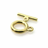 Gold Plated Toggle Clasps