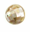 Round Brownlip Blocking Beads 20mm
