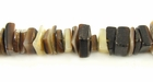 Brownlip Crazycut Shell Beads 6-8mm