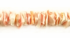 Pinkrose Crazycut Fragum Shell Beads 5-7mm