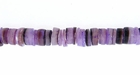 Purple Dyed Hammershell Heishi Beads 4-5mm