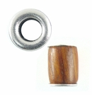 Bayong Tube Wood Beads 10x15mm