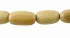 Oval Paluchina  Wood Beads 8mmx15mm