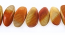 Redwood Tapered Oval Wood Beads