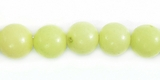 Lime Green  Buri Round Beads 8mm
