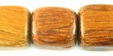 Bayong Wood Dice Beads 15mm