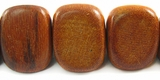 Redwood Triangle Nugget Beads 17x18x17mm