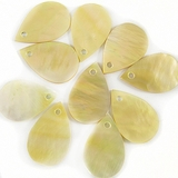 Mop Pearshape Shell Beads