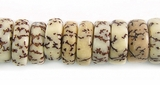 Natural Pukalet Salwag Beads 10x6mm