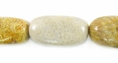 Fossil Coral Nugget Beads