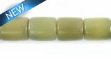 Natural Moss Tube Buri Beads 8-10mm