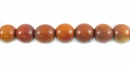 Round Redwood Beads 6mm