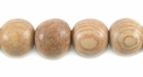 Round Rosewood Beads 10mm