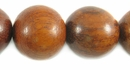 Round Bayong Wood Beads 20mm