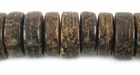 Pukalet  Old Palmwood Beads 12-14mm