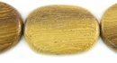 Robles Flat Oval Wood Beads