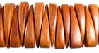Bayong Wood Bracelet Double Drilled Component