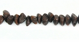 Brown Nugget Salwag Beads 5mm