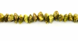 Turquoise Nugget Salwag Beads 5mm