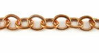 Copper Cable Chain 6x7mm
