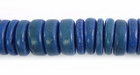 Royal Blue Coco Pukalet Beads 10mm