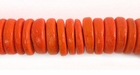 Orange Coco Pukalet Beads 10mm
