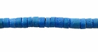 Blue Turquoise Coco Heishi Beads 4-5mm