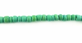Green Round Coco Beads 2-3mm