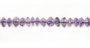 Button Light Amethyst Beads 4mm
