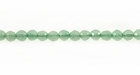 Green Faceted Aventurine Beads 4mm