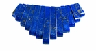 Lapis Tapered Beads