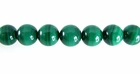 Malachite Round Beads 6.5mm