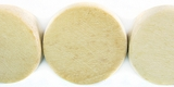 Unbleached Half Tapered Whitewood Beads 25mm