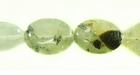 Green Prehnite Flat Oval 10x14mm