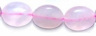 Rose Quartz Flat Oval Beads 8x10mm