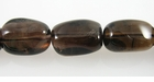 Natural Smoke Quartz Nugget Beads ~12x20mm