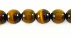 Tiger Eye Round Beads 10mm