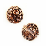 Bali Style Copper Bead 13.5mm