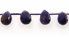 Faceted Briolette Amethyst Beads 6x8mm