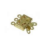 Gold Plated Snap Clasps (144 pcs.)